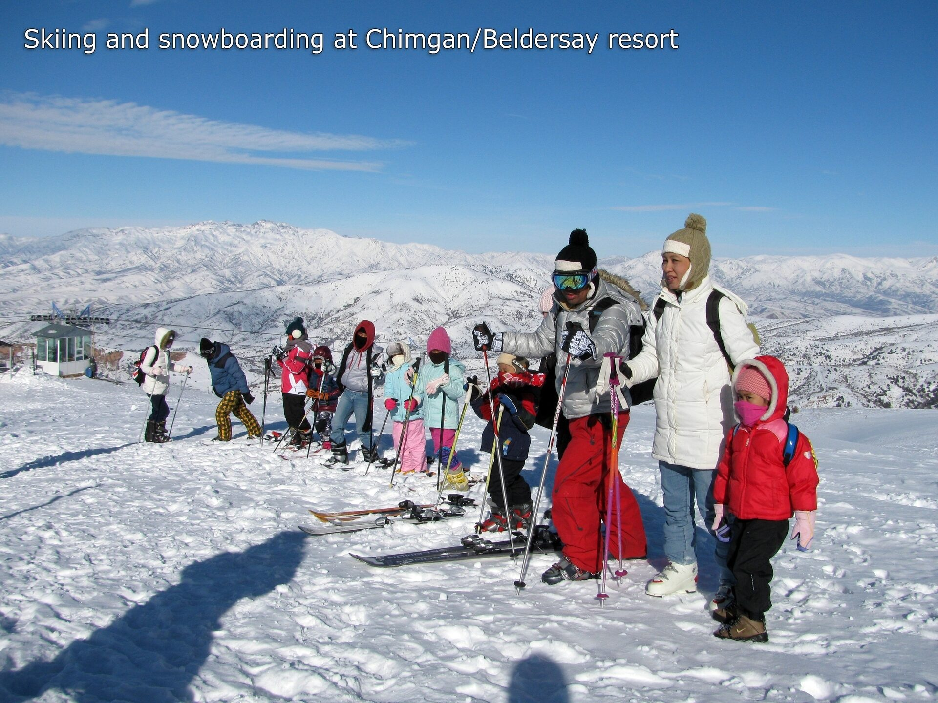 Uzbekistan skiing and snowboarding at Chimgan and Beldersay ski resorts