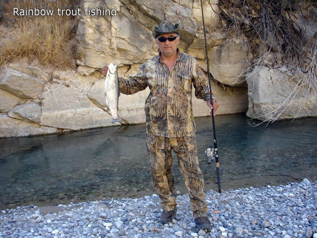 Rainbow trout fishing in Uzbekistan