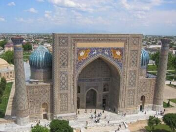 Tour to Uzbekistan. Travel to ancient cities of Uzbekistan: Samarkand, Bukhara and Khiva