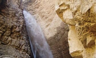 UZBEKISTAN WATERFALLS SIGHT SEEING. PALTAU WATERFALL