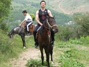 Uzbekistan horse riding in Ugam-Chatkal national park to mountain Patandazboshi