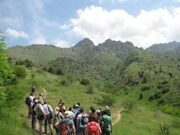 Uzbekistan mountain trekking and hiking tours. Botanic station