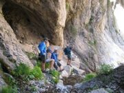 Uzbekistan mountains Hiking & Climbing through Gulkam canyon Summer Season