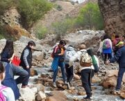 Mountain guides of TRAVEL ORNAMENT in Ugam-Chatkal national park