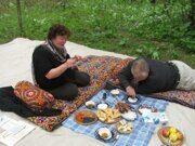 Uzbekistan hiking trekking and picnic tour in Ugam-Chatkal national park to Paltau valley