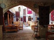 "Restaurant ""Silk road tea house"" in Bukhara"