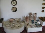 Uzbekistan national Culture & Traditions. Pottery work